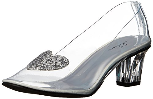 Ellie Shoes Women's 212-ariel Slide Pump, Clear, 8 M US -