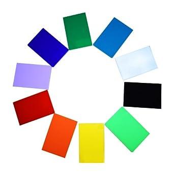 "Amazon.com: 10 Pieces &10 Colored Acrylic Plastic Sheet 12""×20 ..."