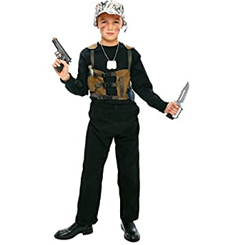 Disfraz de militar niño - De 8 a 10 años: Amazon.es: Juguetes y juegos