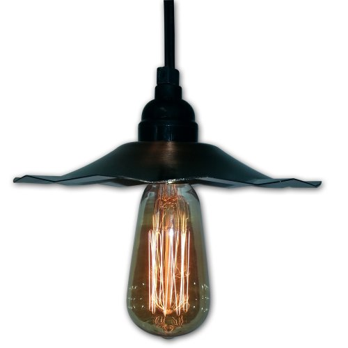 (String Light Company VP2125 Vintage Pendant Light with Copper Shade and Antique Vintage)