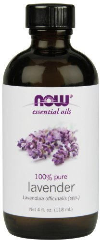 NOW 7561 Lavender Oil Floral , 4-Ounce