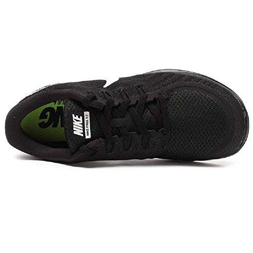 Nike Dames Gratis 5.0 Zwart / Wit / Donkergrijs Voetbalschoenen