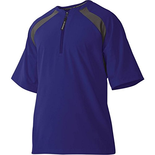 - DeMarini Men's Game Day Batting Practice Jacket, Royal, Large
