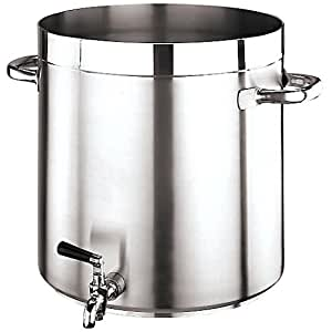 "Paderno World Cuisine""Grand Gourmet"" Stainless-steel 74-Quart Stockpot with Faucet"