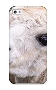 Tpu Shockproof/dirt-proof Alpaca Cover Case For Iphone(5c)