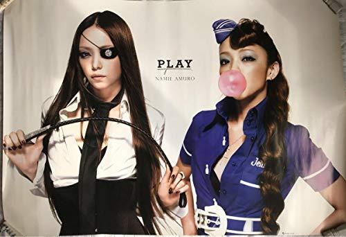 PLAY 安室奈美恵 正規 ツアー会場限定特典 ポスター グッズ (沖縄