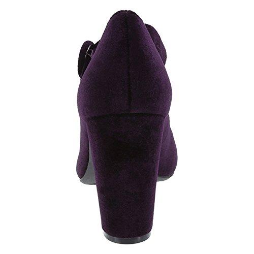 Mary Payless Purple for Velvet Siriano Christian Velvet Jane Womens Marley Pump xqYERFCW