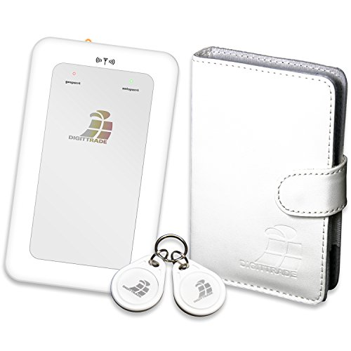 Digittrade RS64 1TB RFID Security externe Festplatte weiß (6,4 cm (2,5 Zoll), 5400rpm, 8MB Cache, USB 2.0) Hardwareverschlüsselung