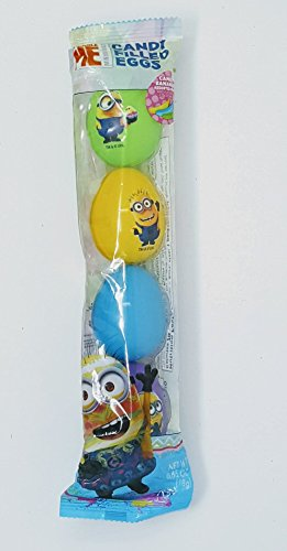 (5 plastic dispicable Me candy Bananas Assorted fruit filled)