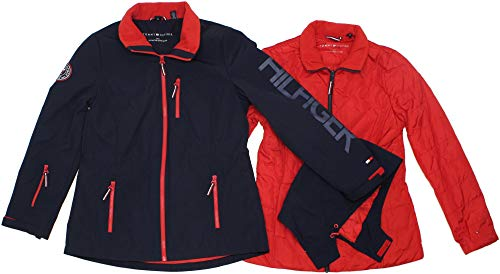 Tommy Hilfiger Women's 3-in-1 All Weather Systems Jacket - L - - Winter Women For Tommy Coats