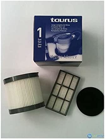 Taurus - Set Filtro 999149, Para Aspirador Megane 2200-2000 Advance: Amazon.es: Hogar