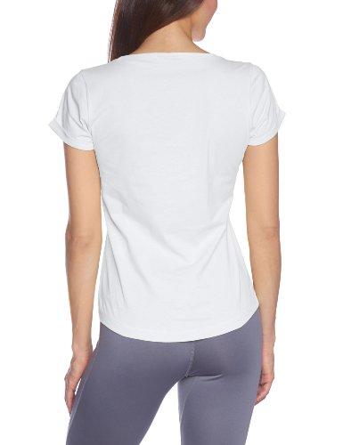 Champion Rundhalst Crewneck T-Shirt - Camiseta / Camisa deportivas para mujer blanco