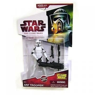 Wars Wars Clone Star Figures (Star Wars Clone Wars 2009 Animated Figure ARF Trooper #10)