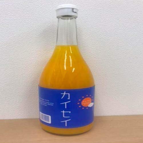 果汁100% 愛媛県産温州みかん使用【カイセイ】みかんジュース 720ml ×6