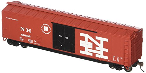 Bachmann Industries 50' Plug-Door Box Car - New Haven (HO Scale) Bachmann 50' Plug Door Box