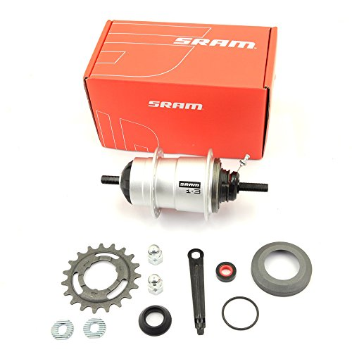 Sram I-Motion 3 32H 135mm Freewheel/Disc Hub Shift Lever(Disc rotor is not include) by SRAM
