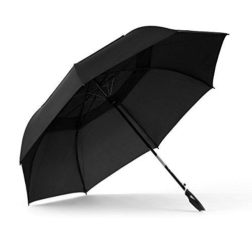 ShedRain 4148-Black WINDPRO Vented Auto Open Golf Umbrella, 62-Inch Arc (Shedrain Windpro Vented Auto)