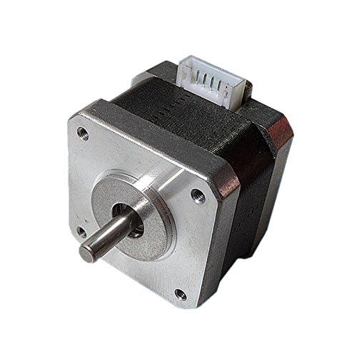 Hrph NEMA 17 Stepper motor 12V For CNC 3D printer extruder 36oz-in 26Ncm 0.4A 104183