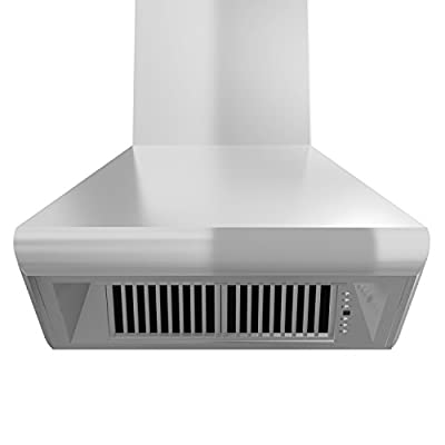 ZLINE Remote Blower Wall Mount Range Hood in Stainless Steel (687-RD)