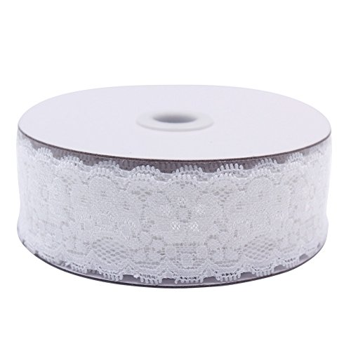 RADLEY Floral Lace Ribbon Roll Ivory 1½