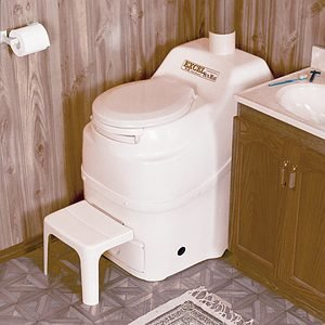 - Sun-Mar Excel Non-Electric Self-Contained Composting Toilet, Model# Excel-NE