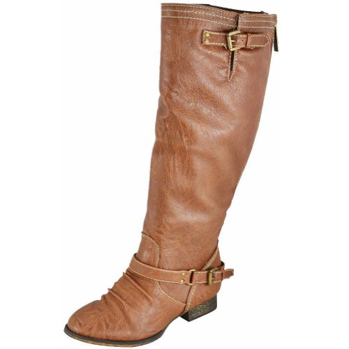 Breckelles Outlaw-81 Tan Women Casual Boots,Outlaw-81v2.0 Tan 6