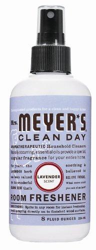 Mrs. Meyer's Room Freshener, Lavender, 8 Fluid Ounce Bottles (Pack of 6) by Mrs. Meyer's Clean Day (Image #1)