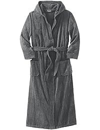 e1135f1e77 Men s Big   Tall Terry Velour Hooded Maxi Robe