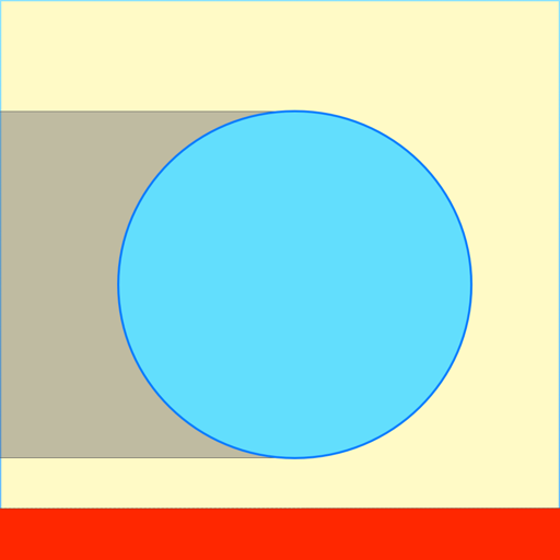 Tunnel Ball 2D The Bounce and Punched (Punched Shape)
