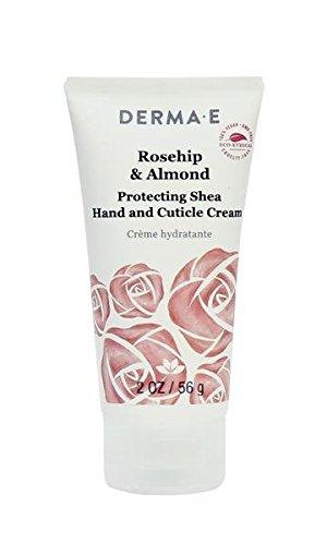 (Derma-e Rosehip & Almond Protecting Shea Hand and Cuticle Cream, 2 Ounce)