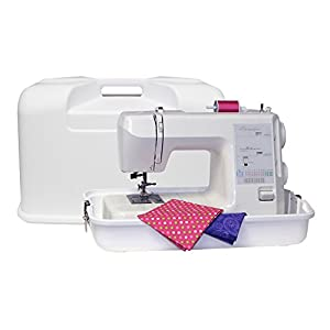 Everything Mary Hard Royal Sewing Machine Carrying Case - WhiteMADE IN THE USA by Everything Mary