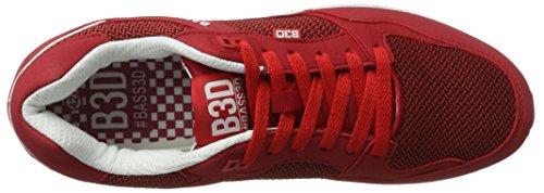 XTI 40134 - Zapatillas de casa Hombre rojo (Rojo)