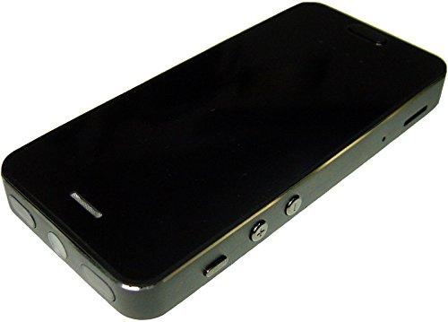 スマホ擬装型ビデオカメラ 不可視赤外線LEDで暗視撮影対応・モバイル充電器機能搭載[CN-SP91MC]