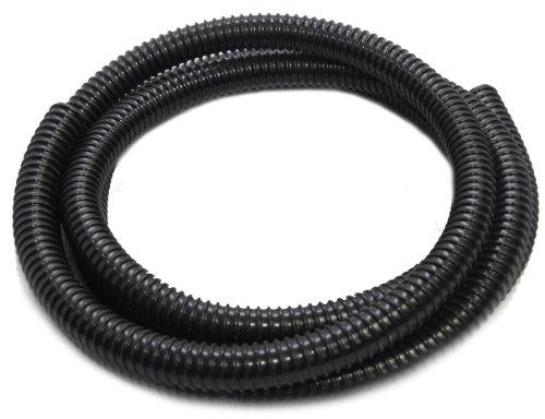 Wasserkaskaden Spiralschlauch Spiralschlauch, Schwarz, 2 x 500 cm