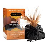 Honey Dust Sweet Honeysuckle Kissable Body Powder with Satin bag and Feather duster by Kamasutra, Health Care Stuffs