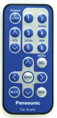 PANASONIC YEFX9992499 CAR AUDIO / VIDEO REMOTE CONTROL - Panasonic Car Stereo Remote