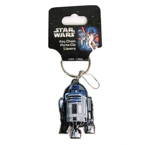 Plasticolor Star Wars R2-D2 Key Chain