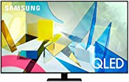 SAMSUNG 55-inch Class QLED Q80T Series - 4K UHD Direct Full Array 12X Quantum HDR 12X Smart TV with Alexa Buil