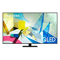 SAMSUNG 65-inch Class QLED Q80T Series – 4K UHD Direct Full Array 12X Quantum HDR 12X Smart TV with Alexa Built-in (QN65Q80TAFXZA, 2020 Model)