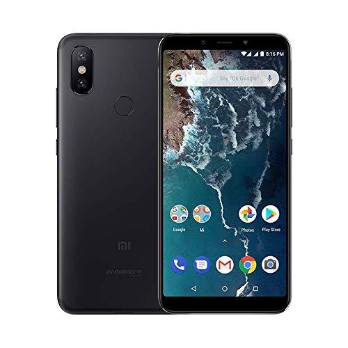 Xiaomi Mi A2 Smartphone Android One Pantalla FHD de 5 99 Qualcomm Snapdragon 660 a 2 2 GHz RAM de 6 GB ROM de 128 GB y cámara dual de 12 20 MP Color negro Versión española