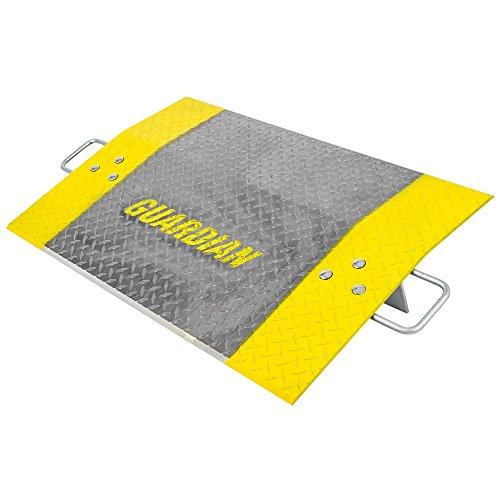 Guardian ADP-2436-3600 24'x36' Aluminum 3,600 lb Pallet Jack Loading Dock Plate