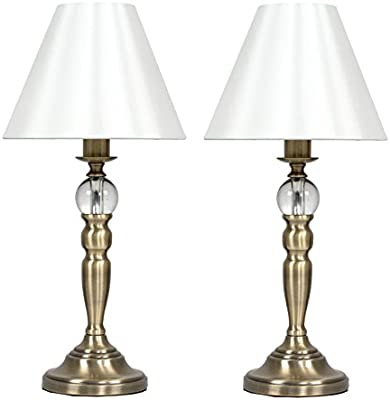 U'Artlines 2 x Crystal Antique Brass