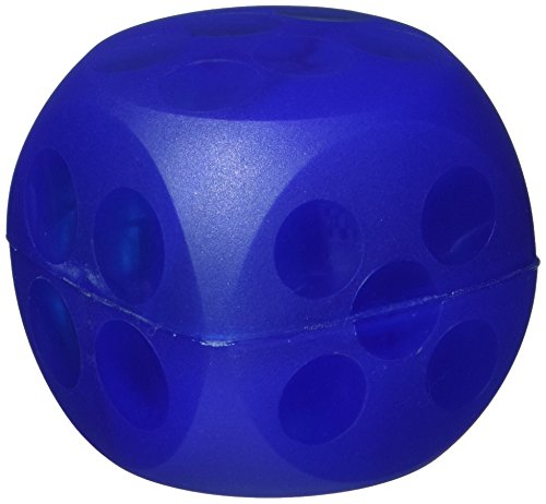 (Kruuse Buster Soft Mini Cube Feeder, Blue)