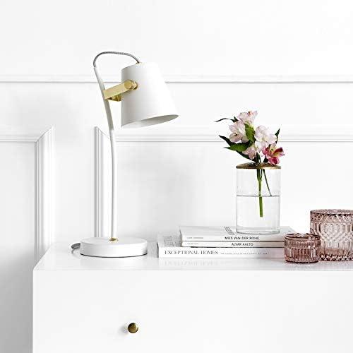 Kenay Home Lámpara de Sobremesa Pure, Blanca: Amazon.es ...
