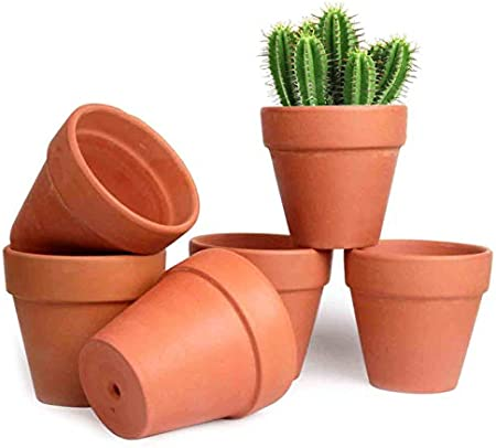 Choose Your Size Mini Terracotta Plant Flower Pots for Crafts