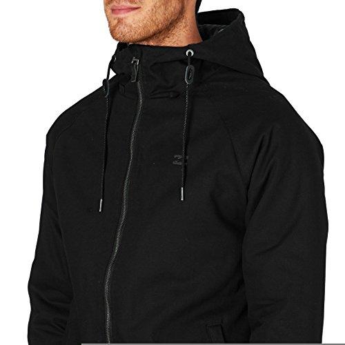 2016 Billabong All Day Canvas Jacket BLACK Z1JK10