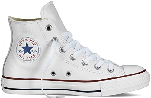 5 Leather WHITE 3 Converse Star TOP HIGH Collection All wXRnPq