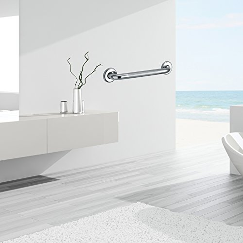 Dreamsbaku Home Bathroom Grab bar 18 inch 304 Stainless Steel Safety Bath and Shower Grab Bar by Dreamsbaku (Image #6)