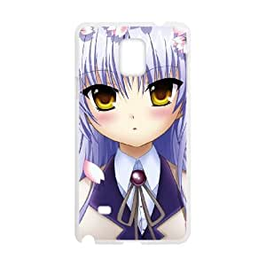 Anime Angel Beats Samsung Galaxy Note 4 Cell Phone Case White JT3858K09481