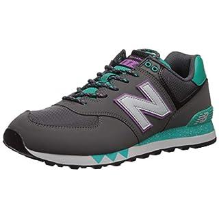 New Balance Men's 574 V2 Sneaker, Magnet/Verdite, 15 M US
